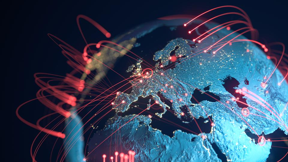 Global Connection Lines