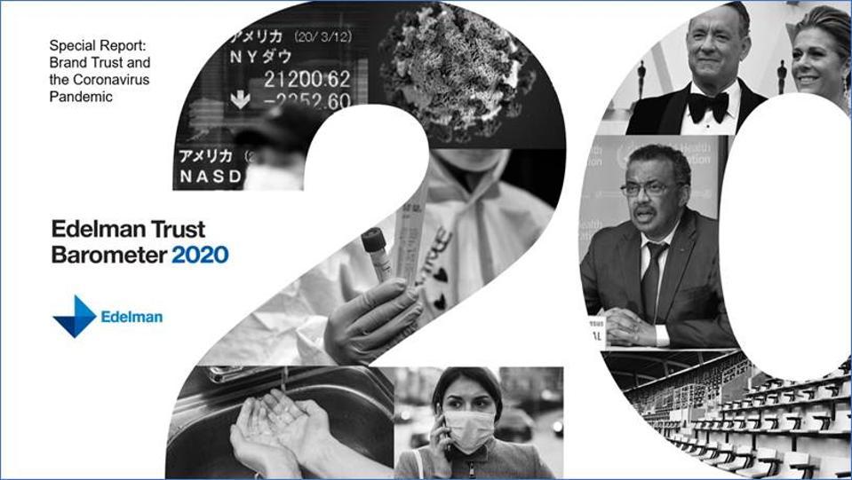 Edelman's Trust Barometer 2020