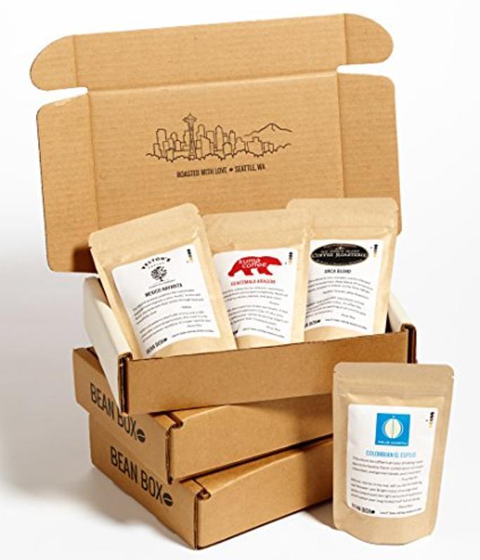 Bean Box Gourmet Coffee Sampler 3-Month Subscription