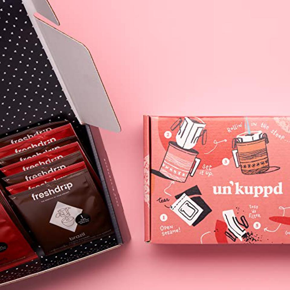 Un'kuppd Pour-Over Coffee Subscription: 14 Pack Box