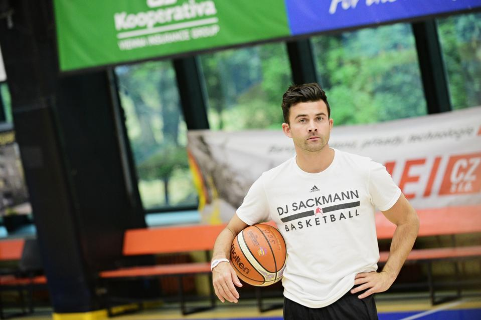 DJ Sackmann, a NBA Skills Coach and a world-renowned basketball clinician, founded Hoop at Home, an online training platform in direct response to COVID-19 cancelling all in-person summer camps.