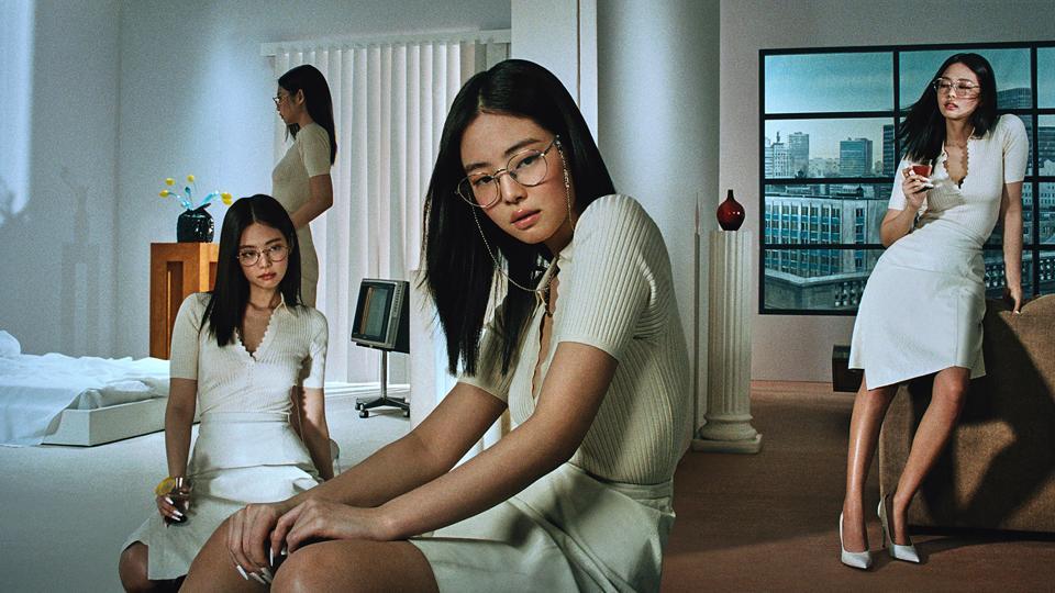 BLACKPINK Jennie Kim x Gentle Monster IN THE MOOD glasses