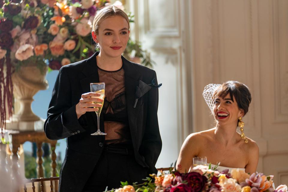 Villanelle's wedding suit kicked off her Season 3 look book