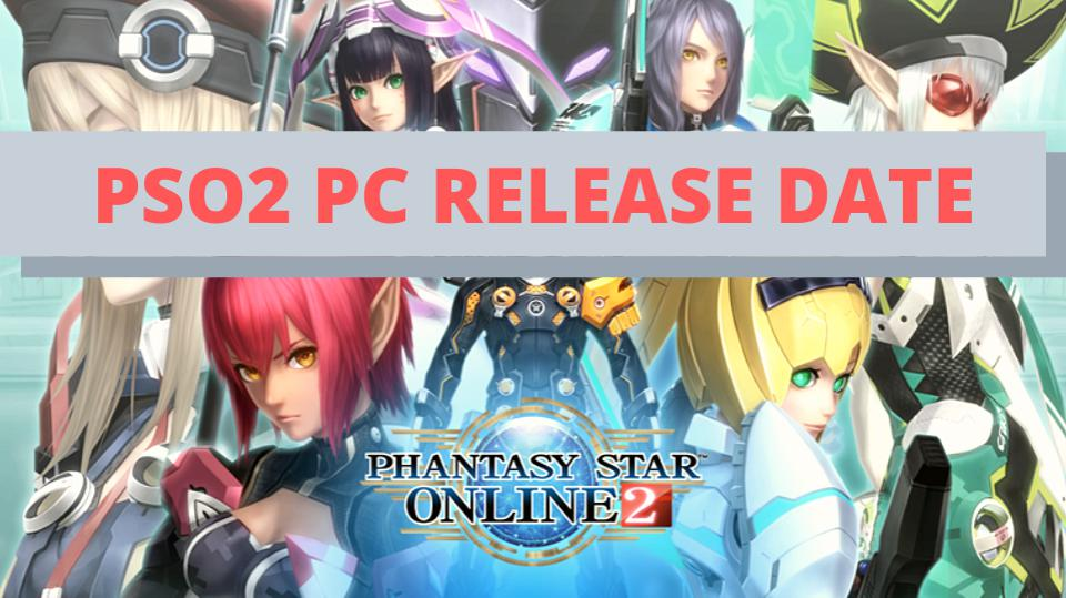 We finally have the PC release date for PSO2 NA