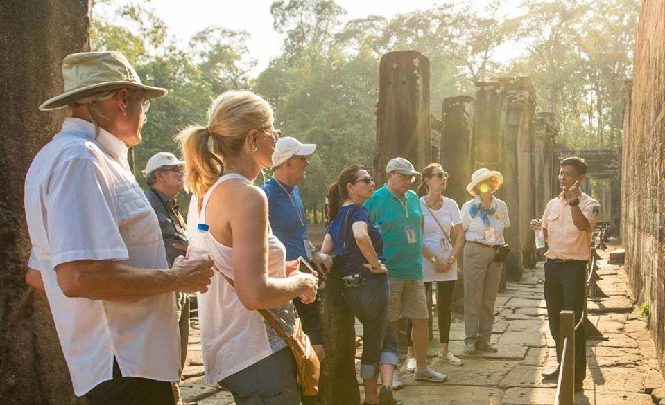 A small group tour with a private guide.