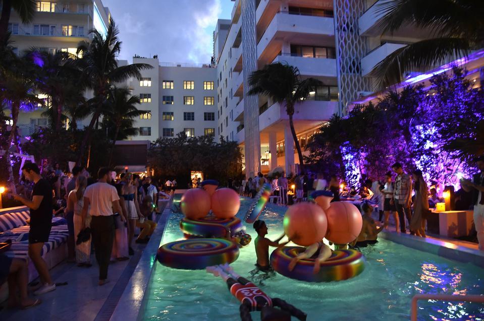 FriendsWithYou X Grey Area Pool Party @ Soho Beach House For Art Basel Miami