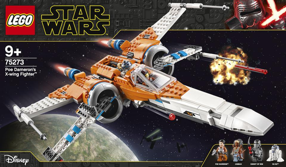 The Lego Star Wars collaboration box