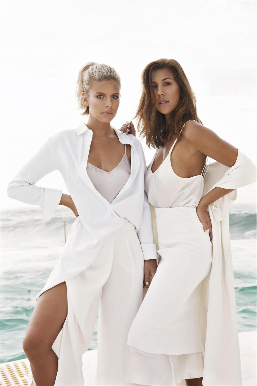 Founders of Monday Swimwear, Tash Oakley and Devin Brugman.