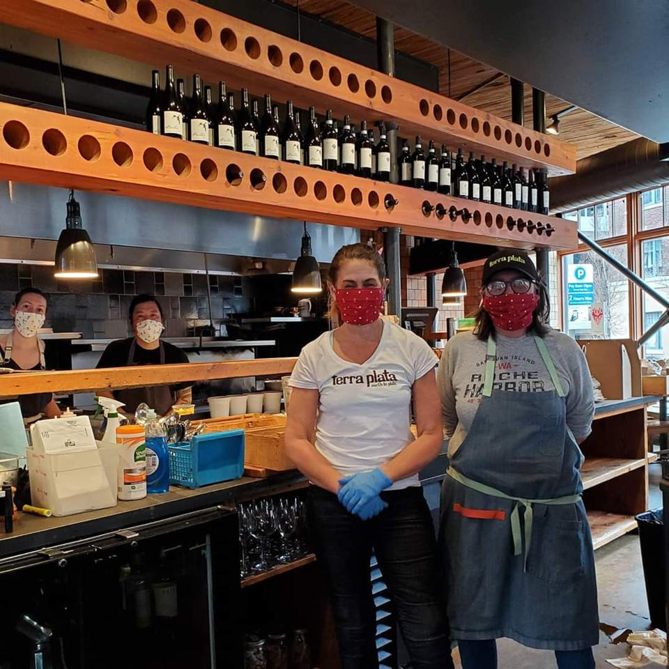 Chef Tamara Murphy's Terra Plata restaurant in Seattle launched the Food is Love project.