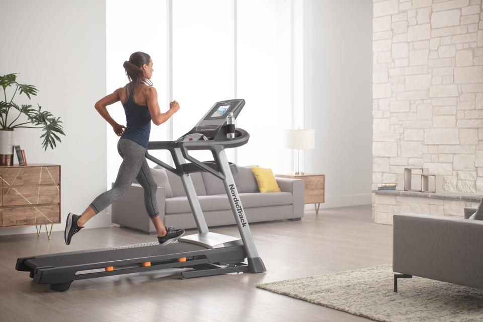 Best at-home cardio workout gift ideas for Mother's Day: NordicTrack treadmill with iFit.