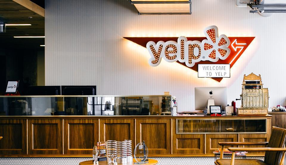 What it looks like to check-in using Envoy at Yelp's headquarters.