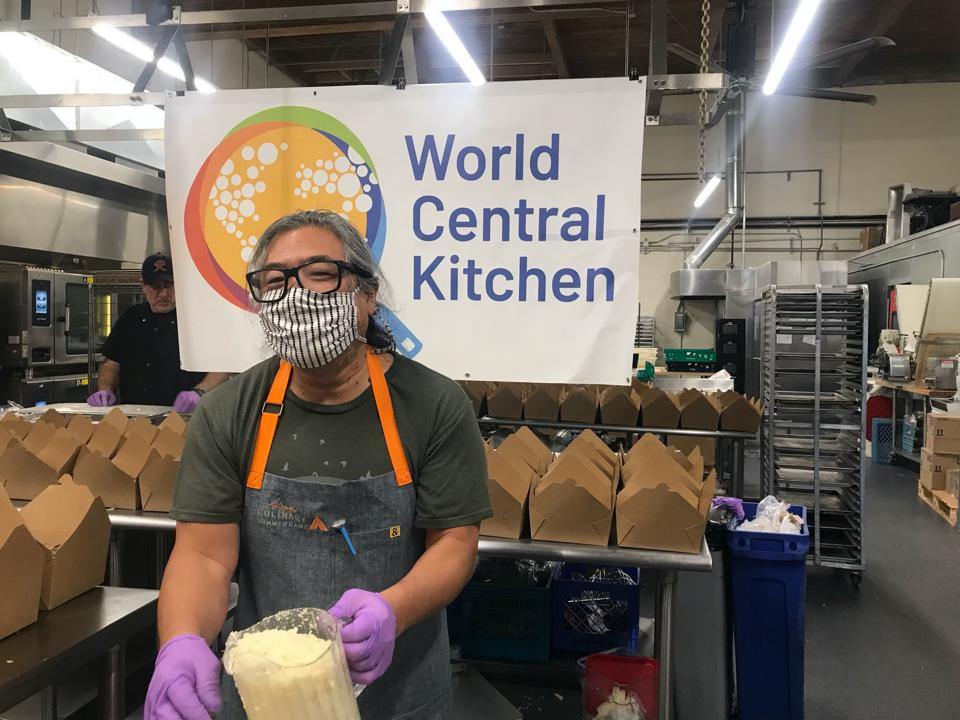 World Central Kitchen has an outpost in Seattle to help feed low-income families.