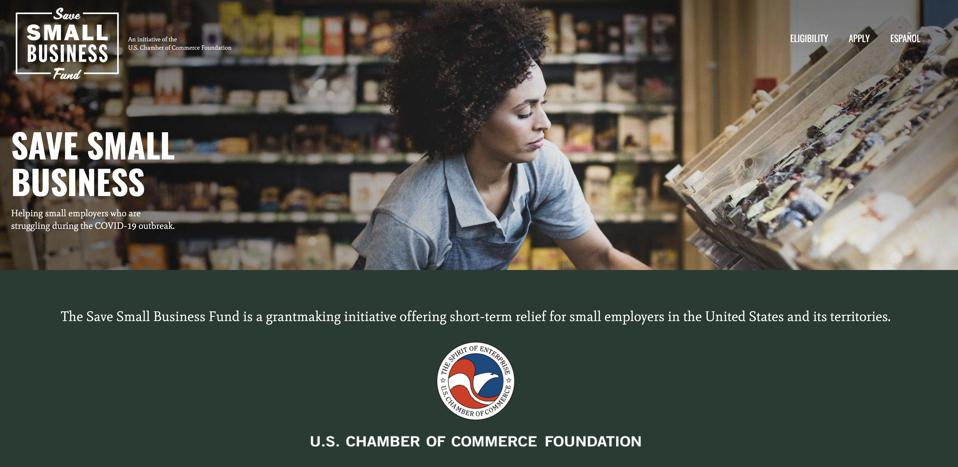 USCCF announces Save Small Business fund