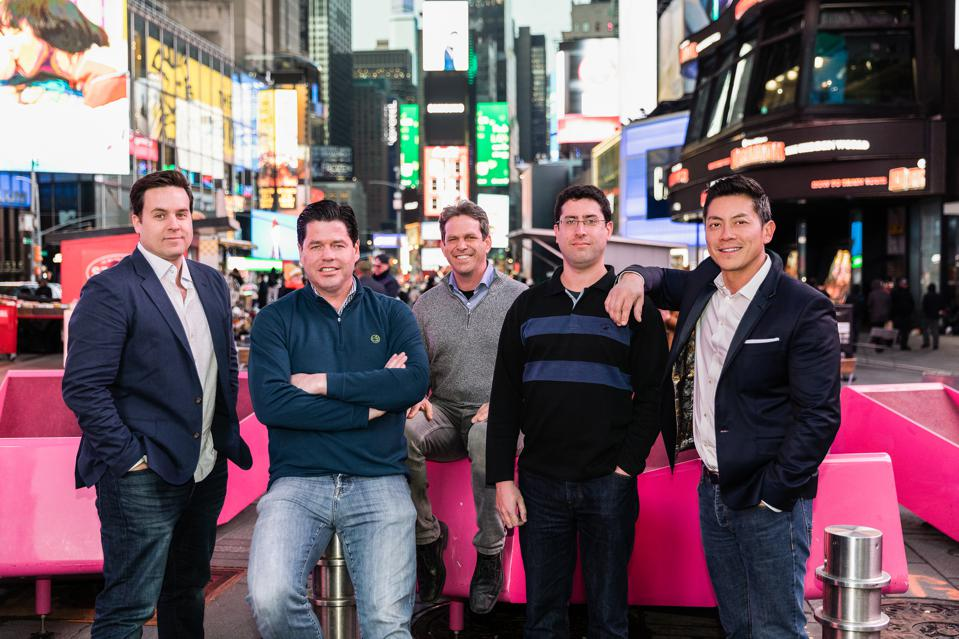 VAST Data's executive team: Cofounder Jeff Denworth, President Mike Wing, Cofounder Shachar Fienblit, Founder Renen Hallak and VP of OperationsA