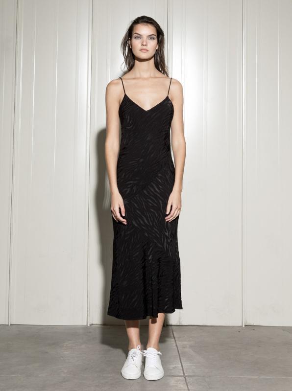 Sustainable Black Dress by Serrano