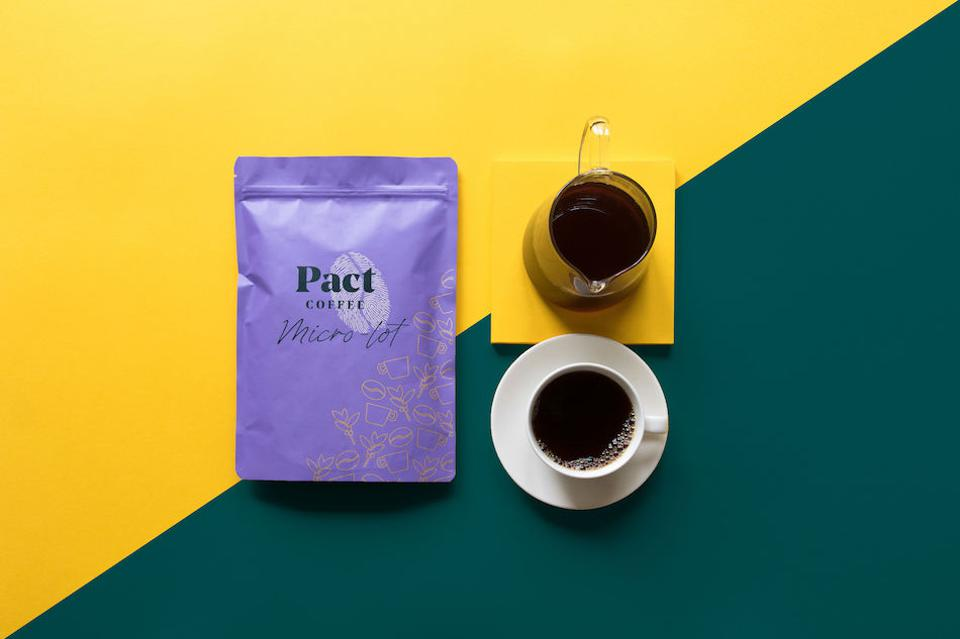 Pact coffee club delivery of coffee beans