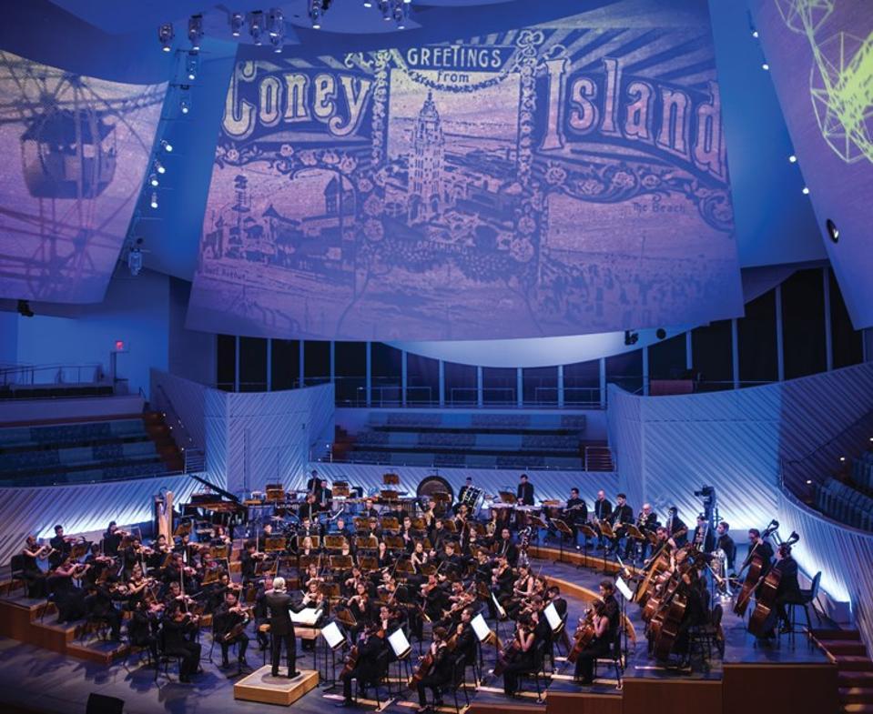 The New World Symphony performance.