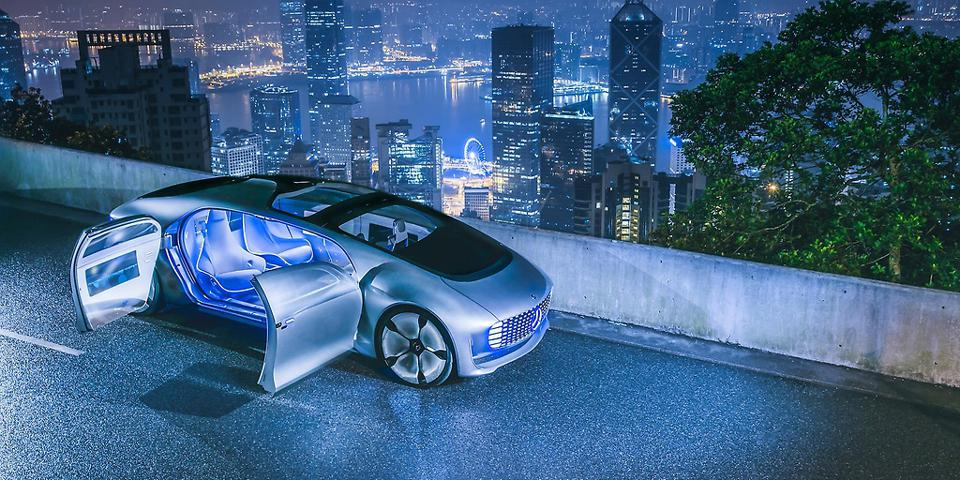 An autonomous car concept, from Daimler, which should swiftly find its way to production