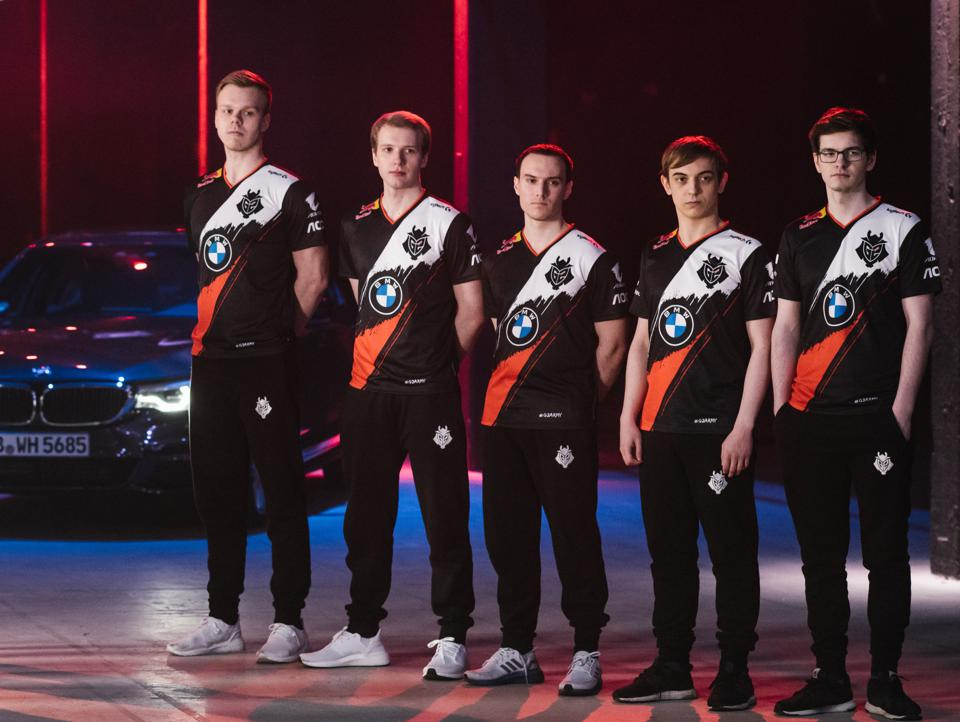 BMW partners with G2 Esports