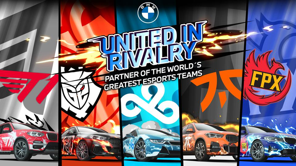 BMW Group pushes into esports through a partnership with Cloud9, Fnatics, FunPlus Phoenix, G2 Esports, and T1.