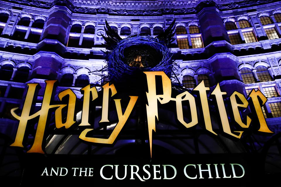 Logos Of The World, Harry Potter and the Cursed Child london logo palace theatre