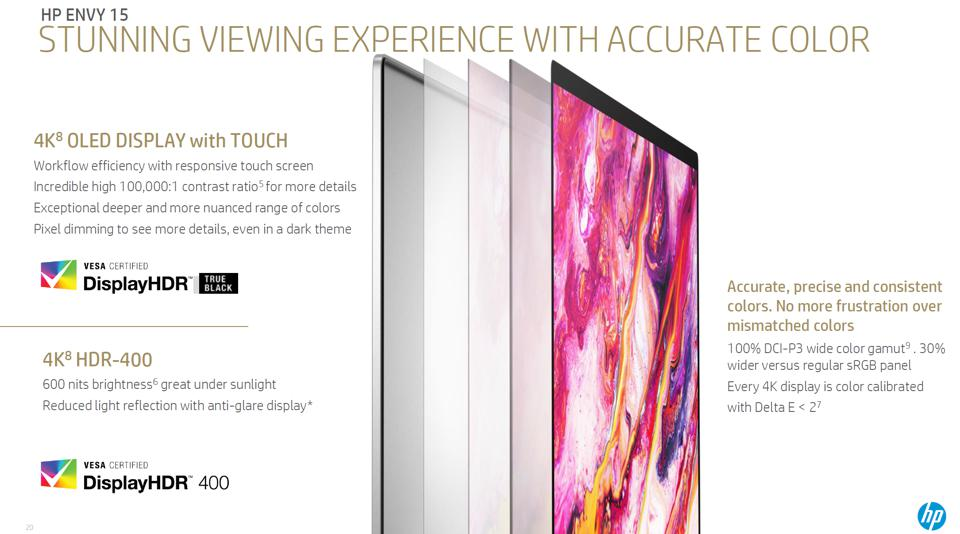 The Hp Envy has an OLED display option with outstanding specification.