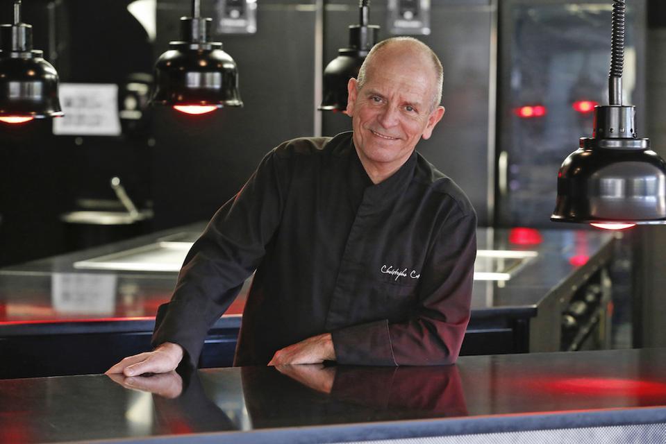Chef Christophe Cussac