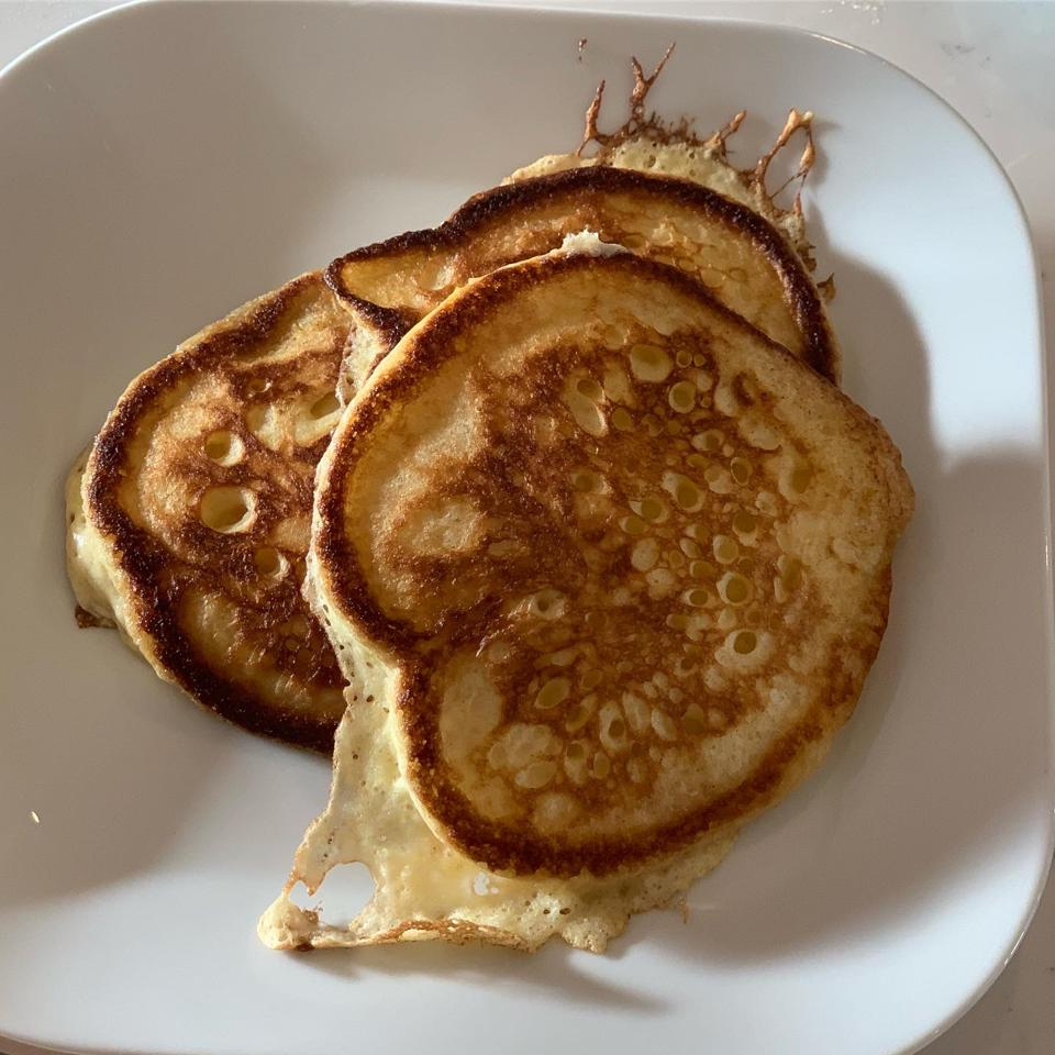Chef Erling Wu-Bower's pancakes