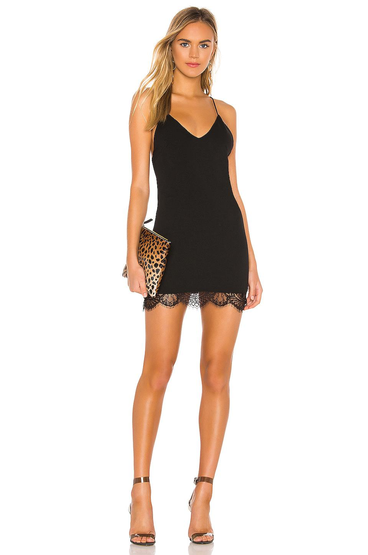 Gigi Lace Hem Dress by Superdown