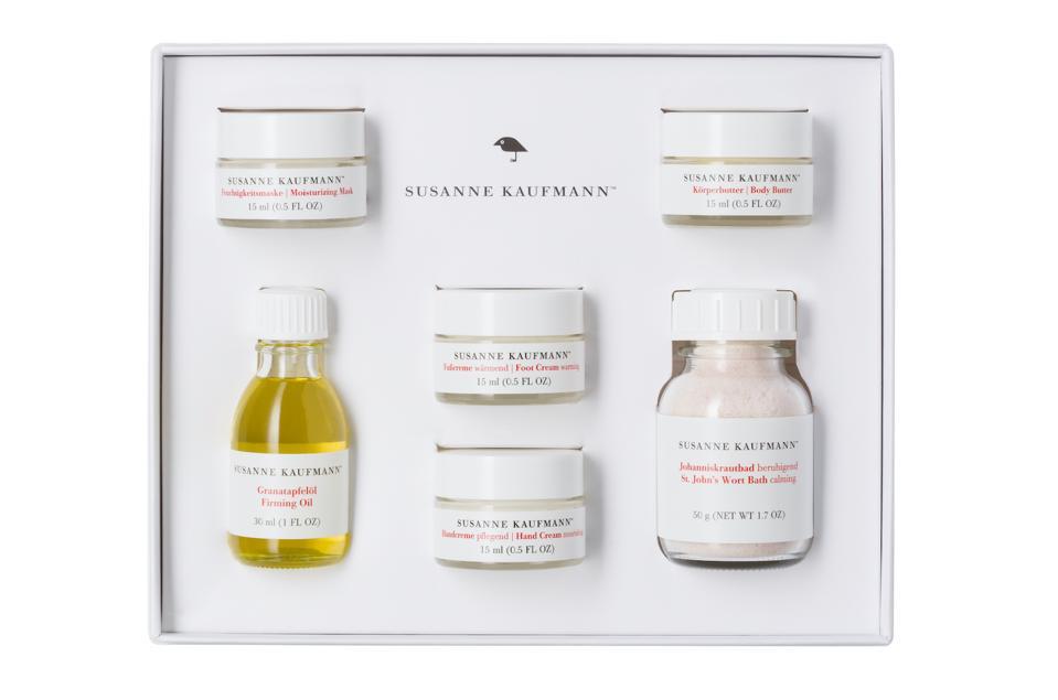 CBD Oil Susanne Kaufmann home spa box organic treats skincare wellness