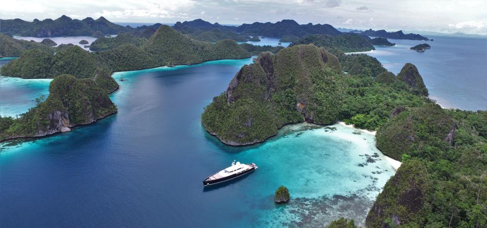 A superyacht may be the best way to escape the Coronavirus. But it's not as easy as it sounds these days.