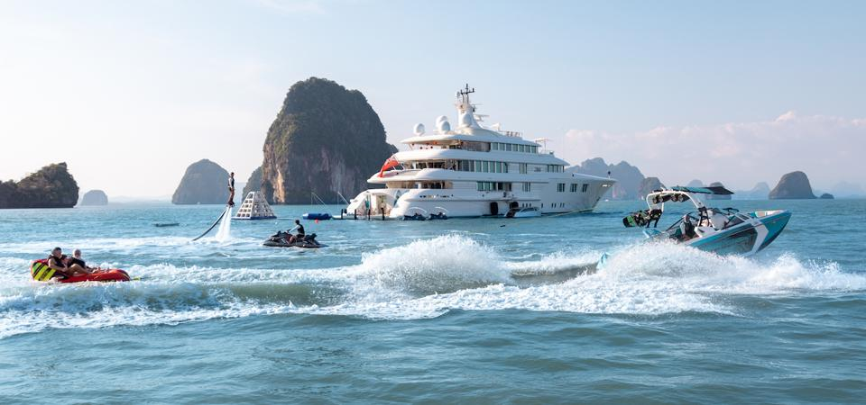 Demand for superyacht charters may be stronger than ever once travel restrictions lift.