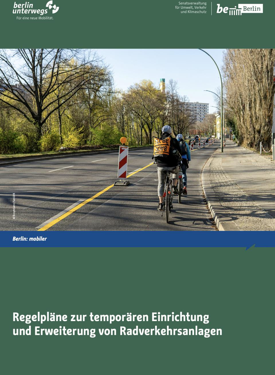State of Berlin's emergency cycling infrastructure guidance.
