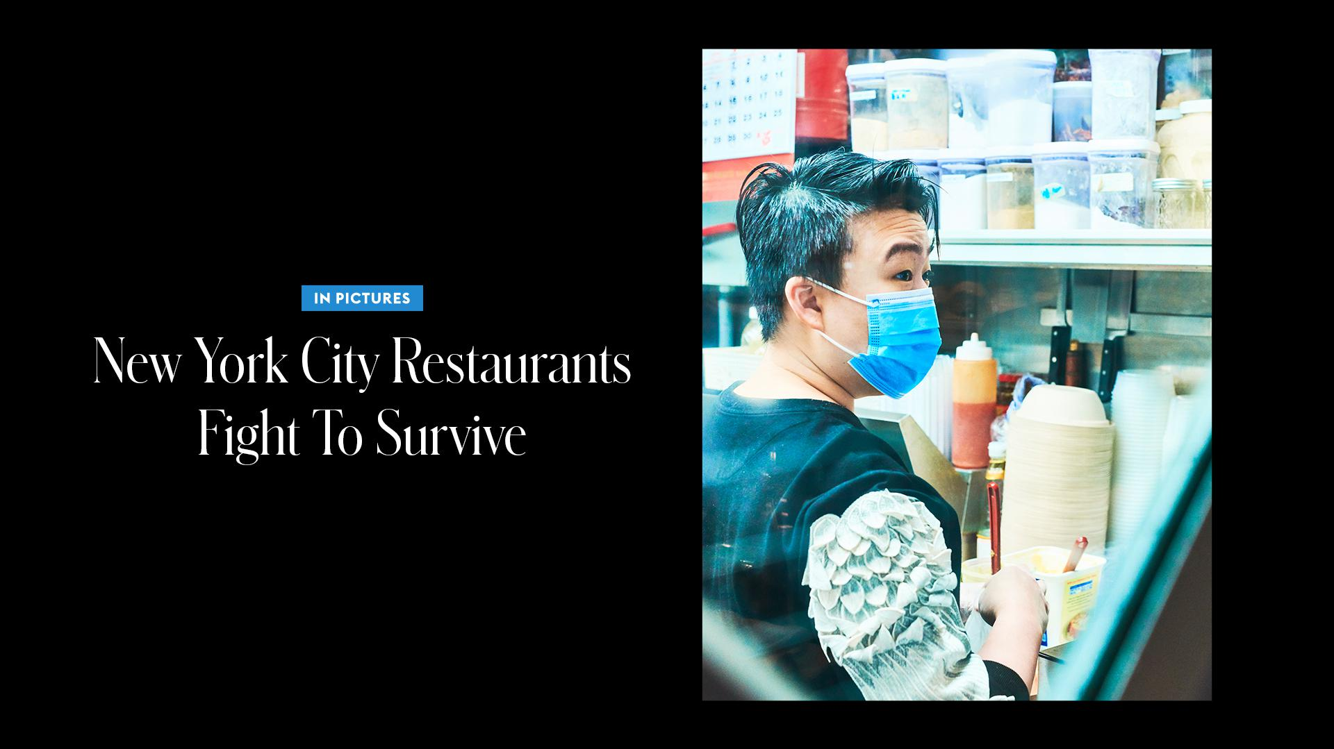 In Pictures: New York City Restaurants Fight To Survive
