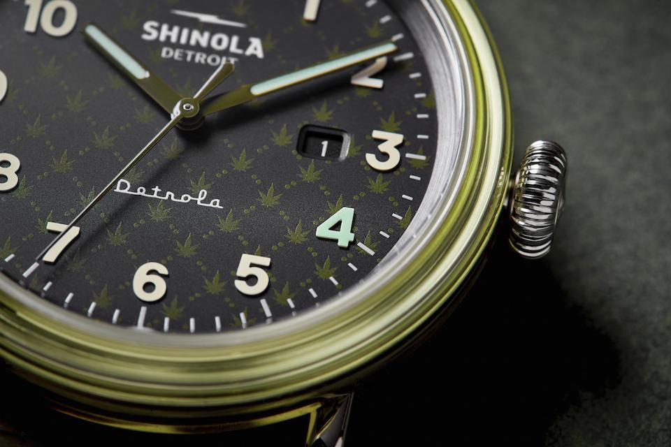 Shinola, Detrola, 4/20, luxury cannabis, cannabis fashion, four twenty, luxury watches