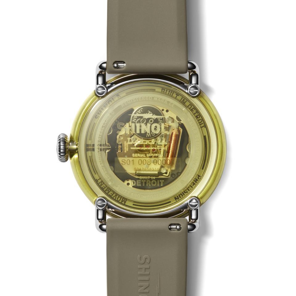 Shinola, Detrola, built in detroit, luxury cananbis, limited-edition watches, cannabis