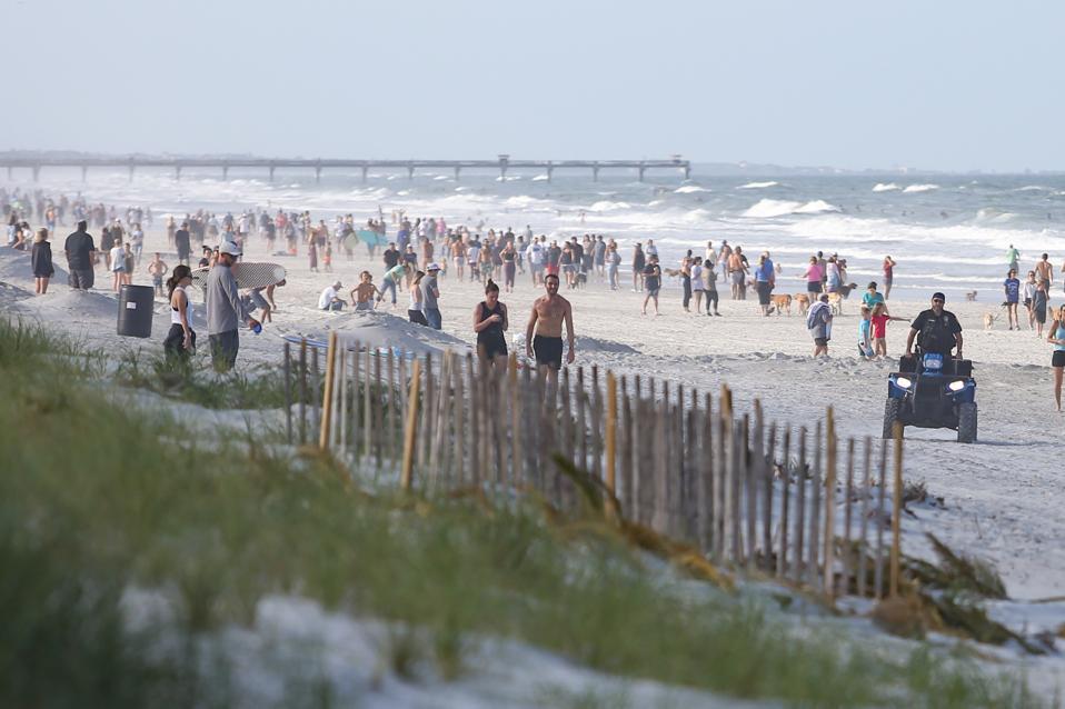 Coronavirus in Jacksonville Beach
