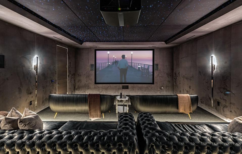 1475 Bel Air Road screening room
