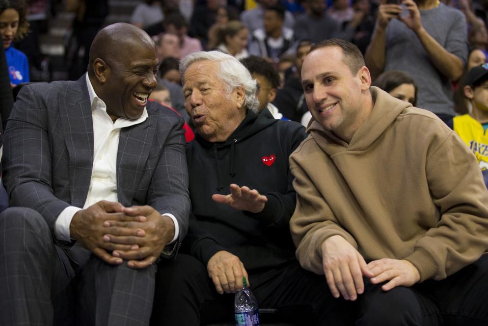 Los Angeles Lakers v Philadelphia 76ers Magic Johnson