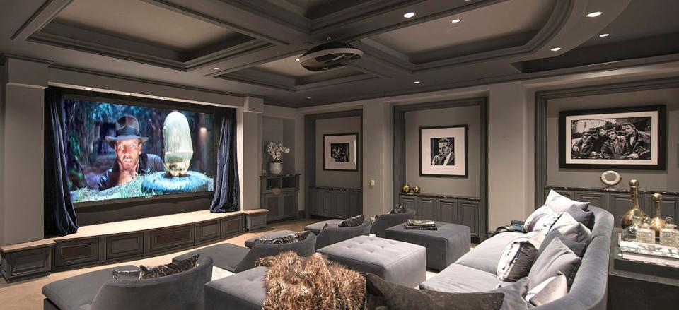 277 St. Pierre Road estate with private screening room
