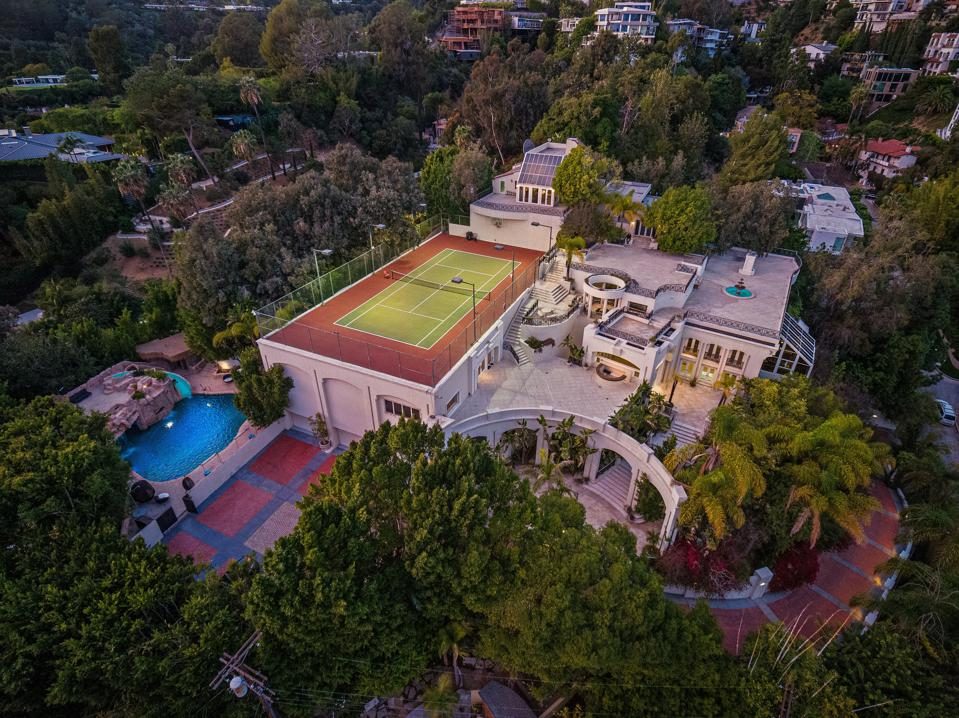 Los Angeles mansion that Prince rented