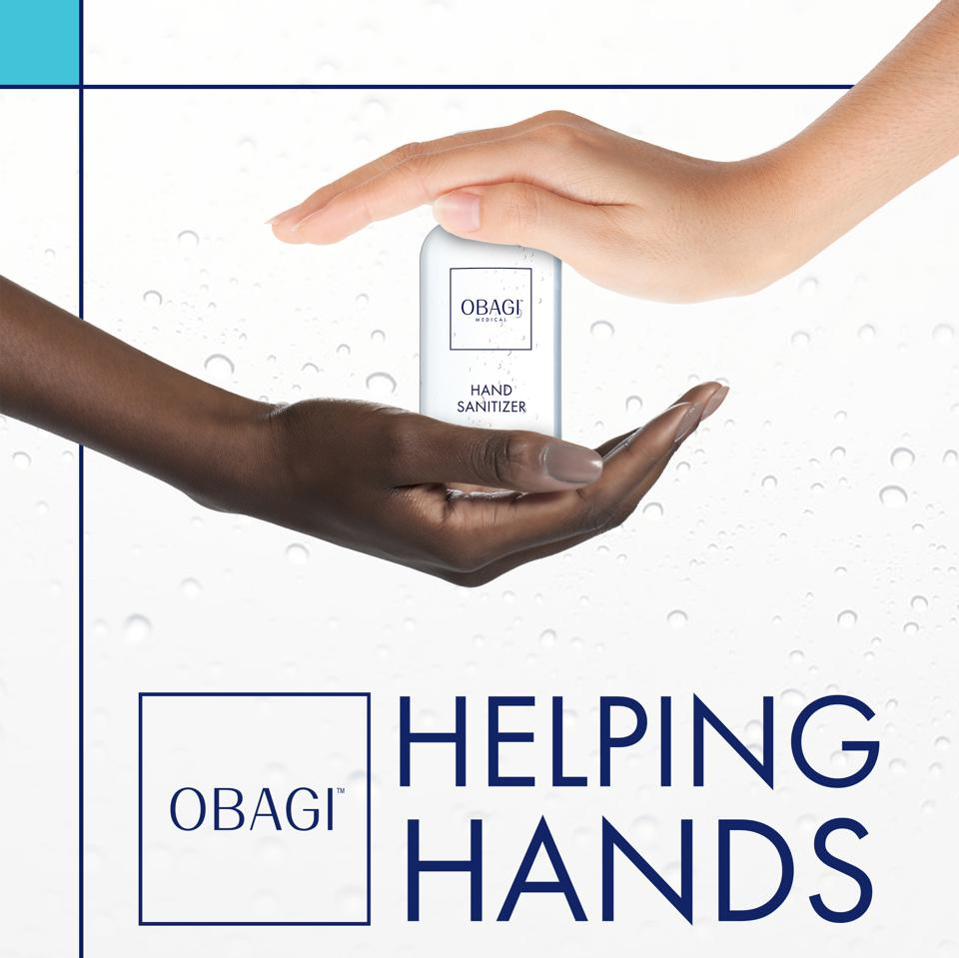 Obagi Helping Hands.