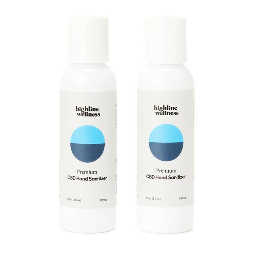 Highline Wellness CBD Hand Sanitizer.