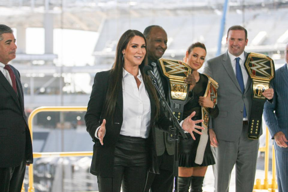 WrestleMania 37 Coronavirus COVID-19 Los Angeles Delay Stephanie McMahon SoFi Stadium