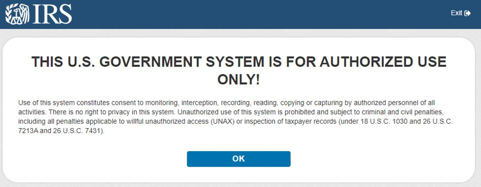 IRS Authorized Use only