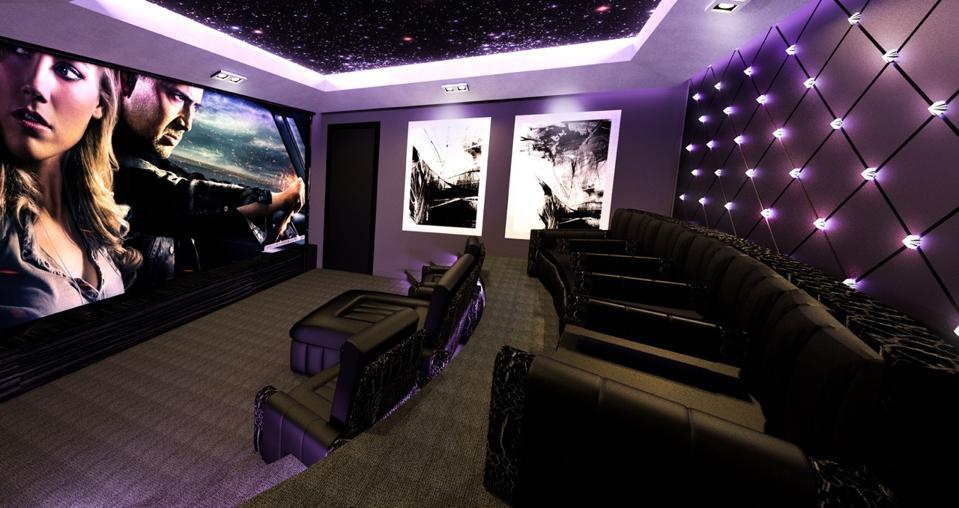 Saudi Royal screening room in Riyadh