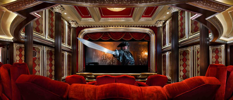 Lady Luck screening room in California created by Slayman Cinema cost $4 million to create