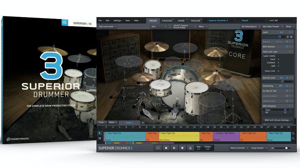 Toontracks Superior Drummer 3