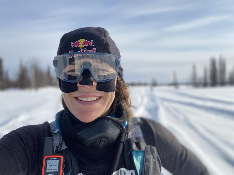 Rebecca Rusch competes in the Iditarod Trail Invitational