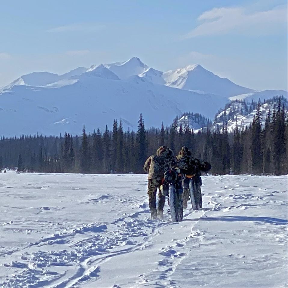 Rebecca Rusch and her husband, Greg Martin, compete in the Iditarod Trail Invitational